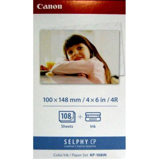 Canon Tinte Papier Multipack KP-108IN 3115B001 für Selphy CP910