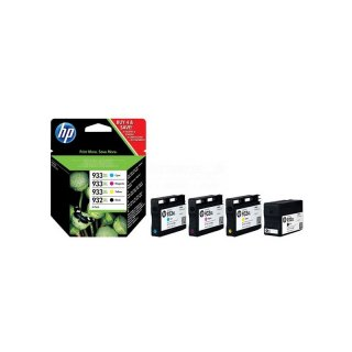 HP 932XL 933XL Officejet Multipack bk, c, m, y (C2P42AE)
