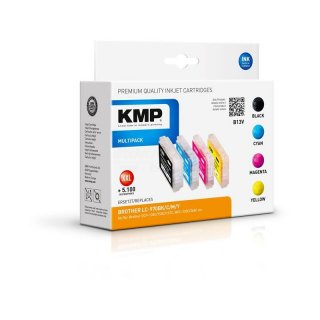 KMP Tinte B13V Vorteilspack kompatibel zu Brother LC970