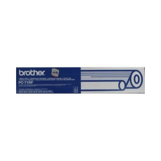 Brother Fax T102 Farbband PC-71RF Thermotransferrolle