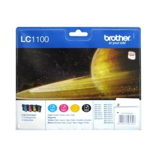 Brother LC1100 Multipack BK,C,M,Y Tintenpatronen