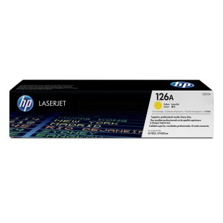 HP CE312A / 126A yellow Toner