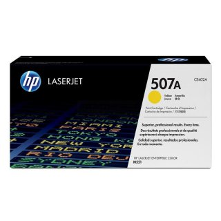 HP CE402A / 507A yellow Toner