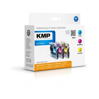 KMP Multipack B45V ersetzt Brother LC125 C/M/Y