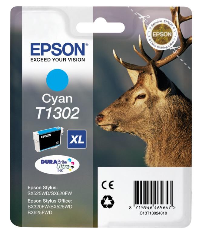Epson T1302 cyan