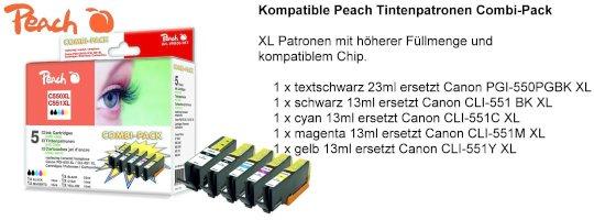 Peach C550/C551 Patronen
